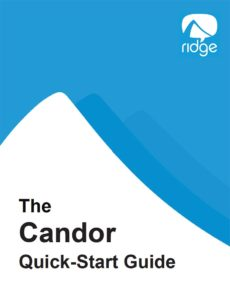 Candor quick start guide